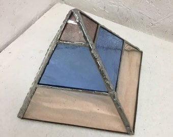 Stained Glass Pyramid Multi Color