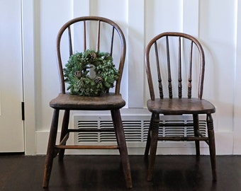 Pair of vintage chairs (pick up only)