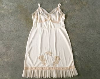 dorsay cream vintage full slip - 1211473