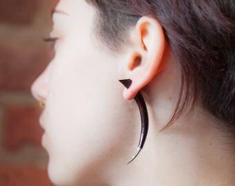 Wood Ear Expander, Tribu, Wood ear stretcher , Wood expander, Wood taper, Gauge jewellery, Gauges, Ear stretcher, Tribal ear stretchers