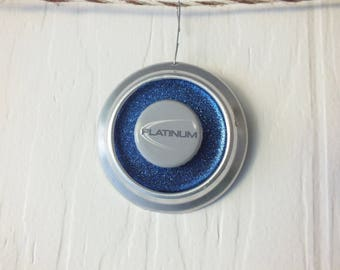 Bud Light Platinum Beer Ornament -