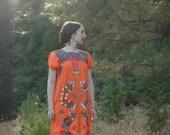 Mexican Dress / Gypsy Dress / Ethnic Dress / Embroidered Dress / Boho Dress / Hippie Dress / Festival Dress
