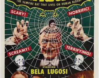 Dracula - Bela Lugosi - 1930's Horror Movie Print