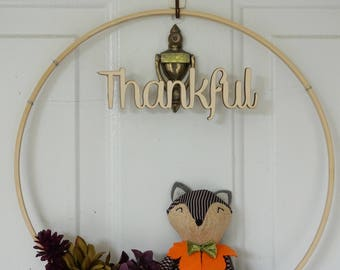 Beautiful and Modern Fall Silk Floral Door Wreath is Unique - year round  wreath- Autumn