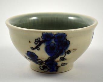 Ring Dish/ Ring Bowl/ Wedding Gift/ Blue and White Porcelain Ring Dish/ Ring Storage/ Ceramic Ring Bowl
