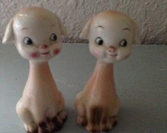 Vintage Adorable Salt & Pepper Shakers