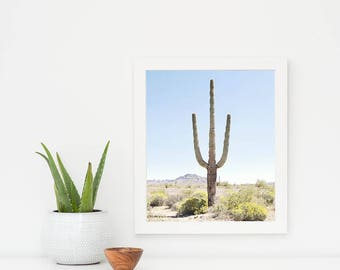 Desert Photography, Cactus Wall Art, Cactus Art Print, Photography, Desert Wall Art, Southwest Decor, Southwest Wall Art, Vertical Art Print