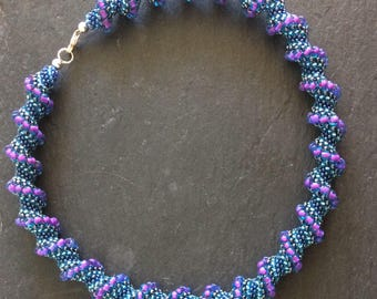 Cellini Spiral Statement Necklace