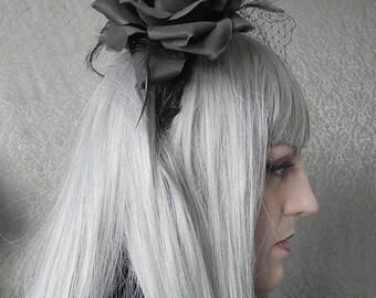 Opulence feather headband - Gothic Lolita Headdress