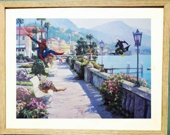 Spiderman! printed on 11 x 17 in paper (free shipping)