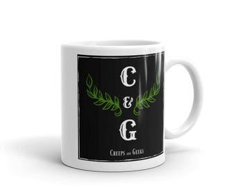 Creeps and Geeks Coffee Mug