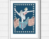 Ballerina Print, Kids Roo...