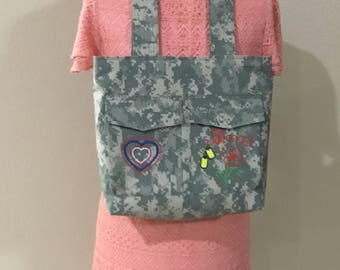 Army wife bag