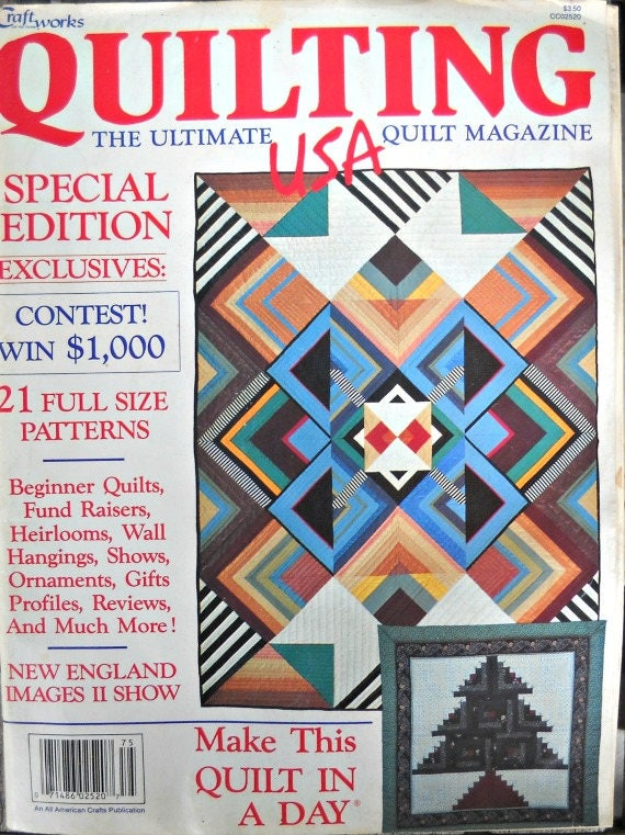 Quilting USA Magazine Vintage February 1987 Issue Quilt : quilts usa - Adamdwight.com