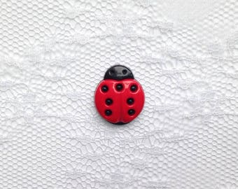 Ladybug Lapel Pin