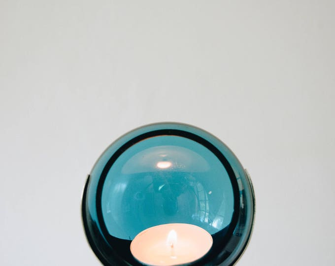 Mid Century Party Ball Candle Holder // Quist Germany // Vintage Cocktail Party