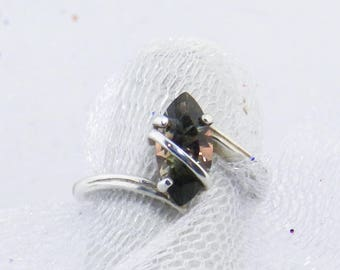 Oregon Sunstone Ring - Red Oregon Sunstone Ring - Marquise Oregon Sunstone Ring - Green Oregon Sunstone Ring - Dichroic Sunstone Ring#331