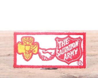 Vintage The Salvation Army Patch / Girl Scout Patch / Boy Scout Patch / Grunge Patch
