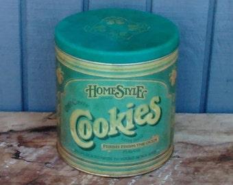 Vintage Cookie Canister - Cookie Jar
