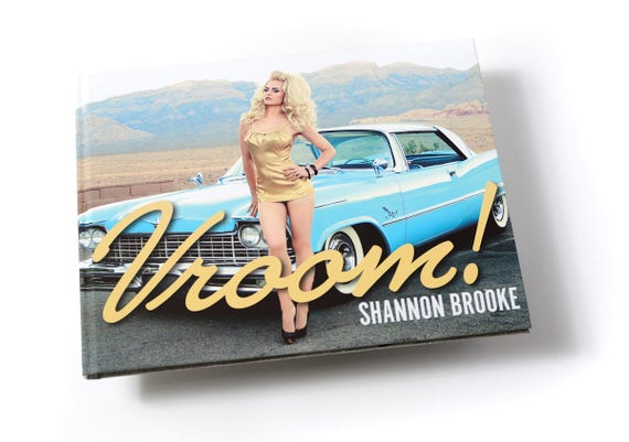 VROOM! by Shannon Brooke- high end art book