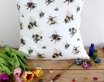 Buzzy Bees Cushion