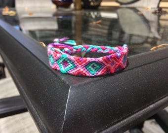 Vibrant Friendship Bracelet