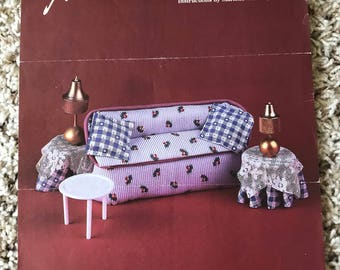 Doll Furniture Directions Sheet