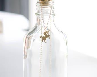 UNICORN Necklace / Unicorn Jewelry / Gold Unicorn / Always Be a Unicorn / Dainty Jewelry / Delicate Jewelry