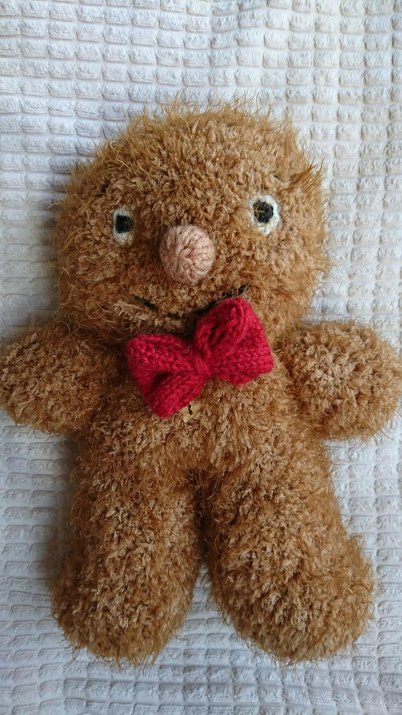 George The Gingerbread Man Pdf Knitting Pattern From Cillaspurls On