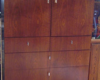 Founders Bedroom Dresser, Vintage Chest of Drawers, Armoire Furniture, LOCAL PICK UP Warren, MIchigan (Detroit) Or Buyer Arranges Shipping