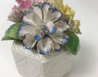 Royal Sutherland Rose Flower Bouquet Fine Bone China Staffordshire England Porcelain Vintage