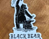 Black Bear Forge sticker