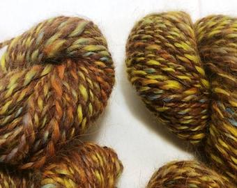 100% Suri Alpaca Yarn, Multi-Fall Yarn, 2.4 ounces, 120 yards, Pure Suri Yarn