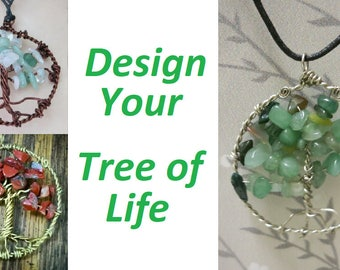 Tree of Life Pendant - Choose your colors!