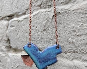 Large Ceramic Ottawa Necklace
