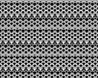 Fish Scale Pattern Digital Download Printing Fabric