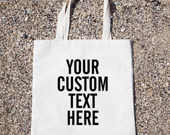 Personalized Bag Custom Tote Bag Customized Funny Canvas Bag, Canvas Tote Bag, Shopping Bag, Grocery Bag, Funny Reusable Cotton Bag