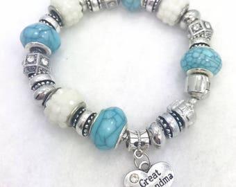 Great Grandma Charm Bracelet