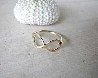 14k Gold Filled Infinity Ring
