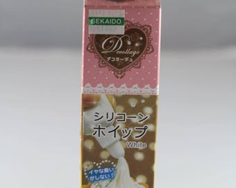 Padico Silicone Whipped Clay 100g (White or Pink - Strawberry) JAPAN IMPORT
