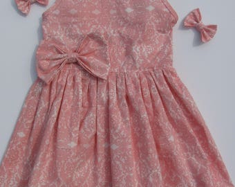 Pink and Lacy Dress, Size 5 Girl's dress