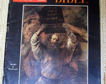 Life Magazine, Special Double Issue, The Bible, December 25, 1964