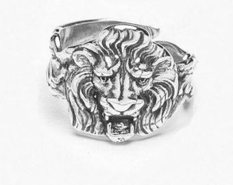 """Spoon Ring: """"Lion"""" by Silver Spoon Jewelry"""