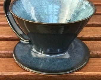 Handmade Ceramic Coffee Pour Over Maker