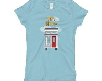 Full House / Tiny House Mashup - Girl's T-Shirt
