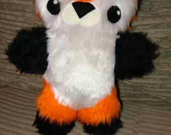 OOAK Mr Foxy Plush Cute Handmade Original artist plusj