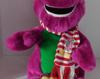 Barney Plush Etsy
