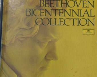 Beethoven Bicentennial Collection - Pt 2, Vol. 2 - 5 Vinyl  Record Set - 1970 - Factory Sealed