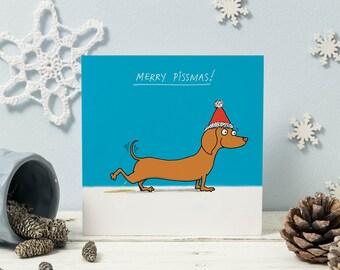 Merry Pissmas! Christmas cards