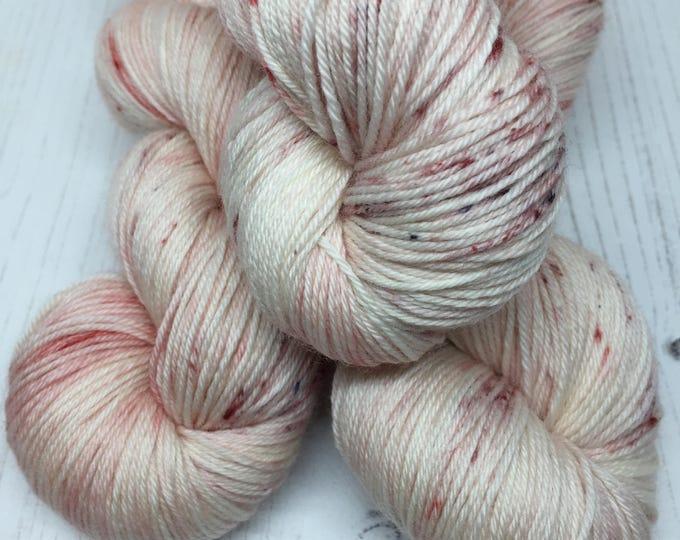 Blush Print  - 100grams 100% Merino   4 ply wool
